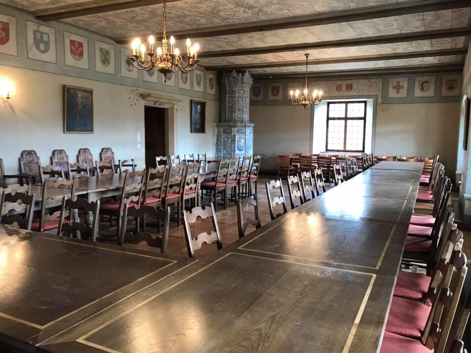 Le restaurant salle des chevaliers