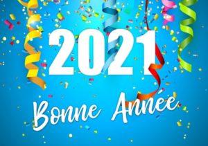 Accueil - carte bonne année 2021